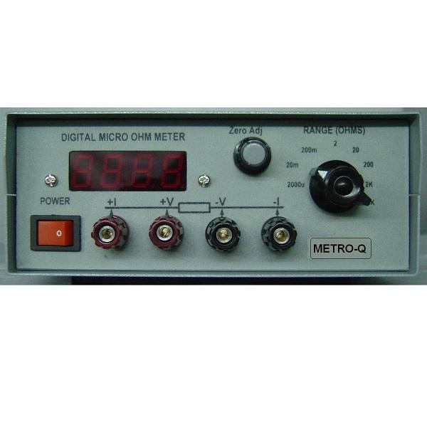 MTQ Micro 3.5 Micro Ohm Meter