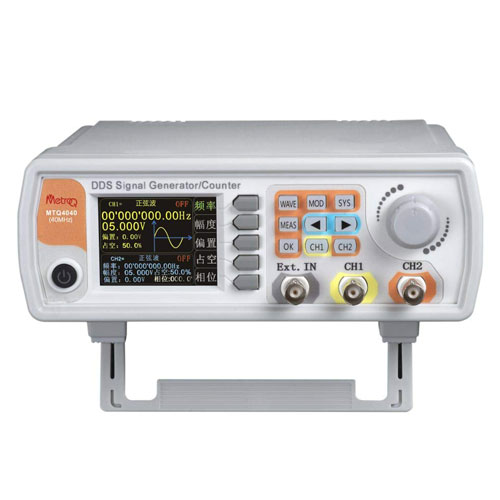 MTQ6060 DDS Signal / Function Generator with Counter with USB- 60Mhz