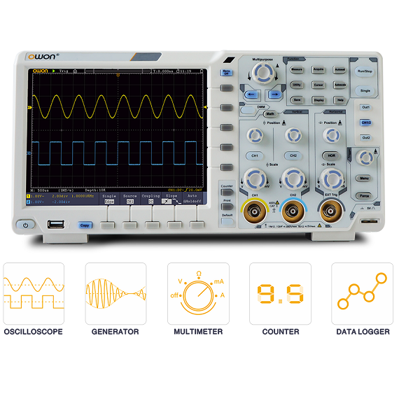 XDS 3062A 60 MHz Digital Oscilloscope (DSO)