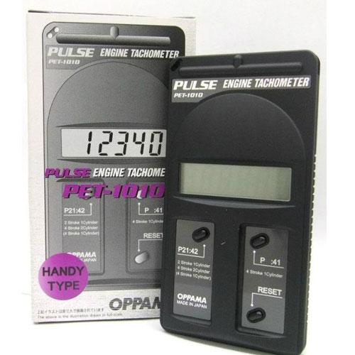 PET 1010 Pulse Engine Tachometer (Range 100-19000 RPM)