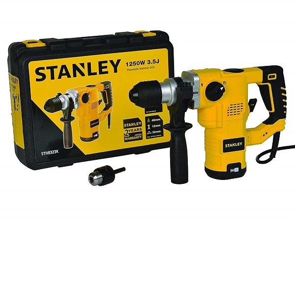 STHR323K- 1250-Watt SDS-Plus Hammer with Kitbox