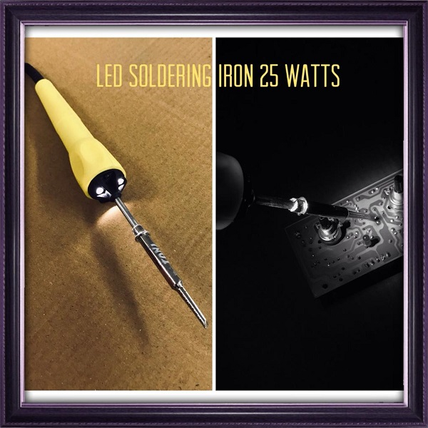 25W Soldering Iron with LED