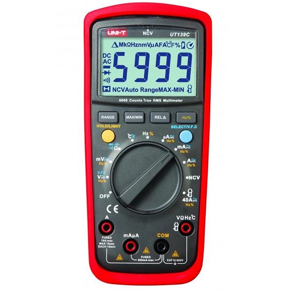 UT139C True Rms Digital Multimeter