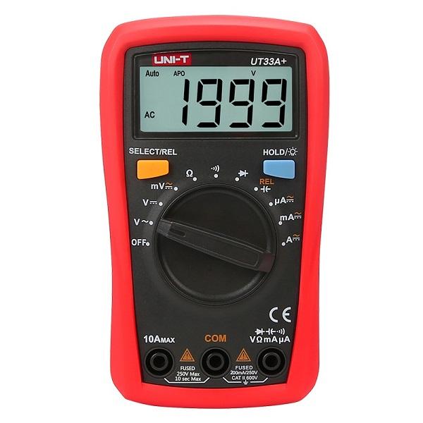 UT33A+ Palm Size Multimeter