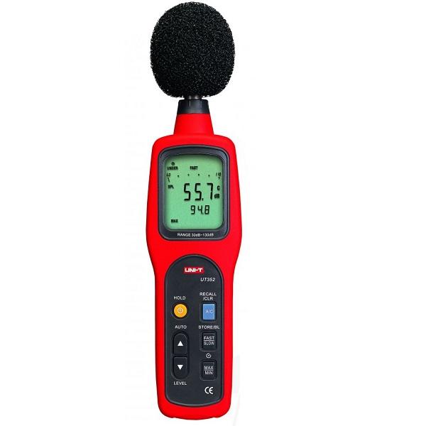 UT352 Sound level meter With Data Logging