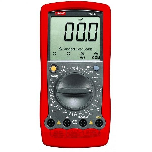 UT 58C Portable Digital Multimeter