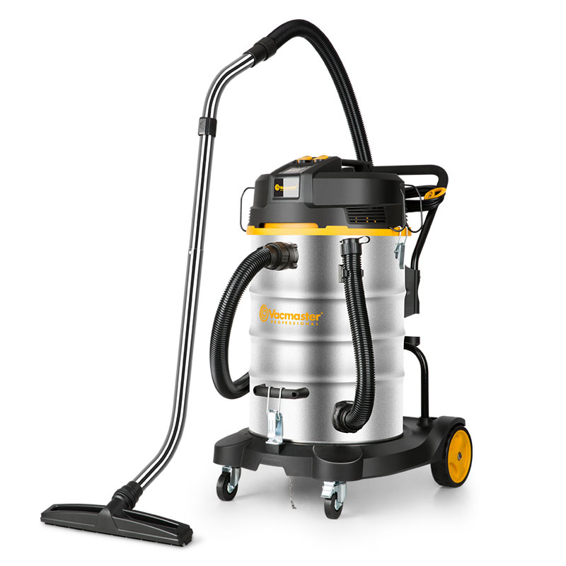 VJK2270SW Stainless Steel Single Phase Vacmaster Double Motor Vacuum Cleaner 70 L