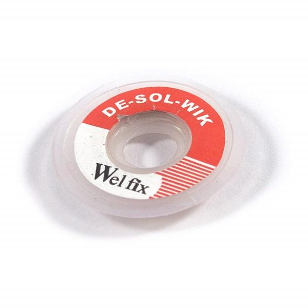 WELFIX DeSoldering Wire (de-soldering wik)