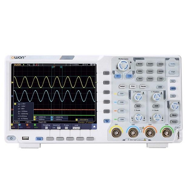 XDS3104E Digital Storage Oscilloscope 4 Ch 100Mhz
