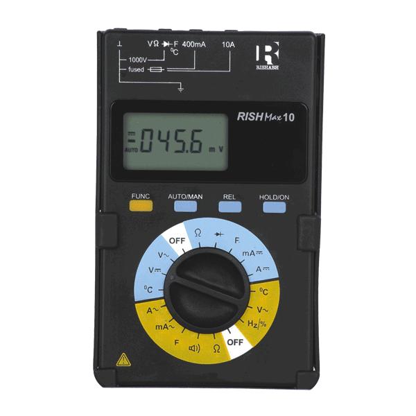Rish Max 10 Digital Multimeter