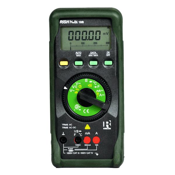 Rish Multi 18S Digital Multimeter