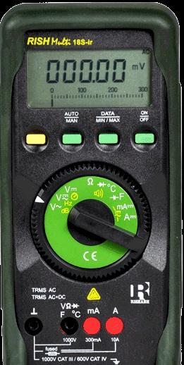 RISH Multi 18S IR Digital Multimeter