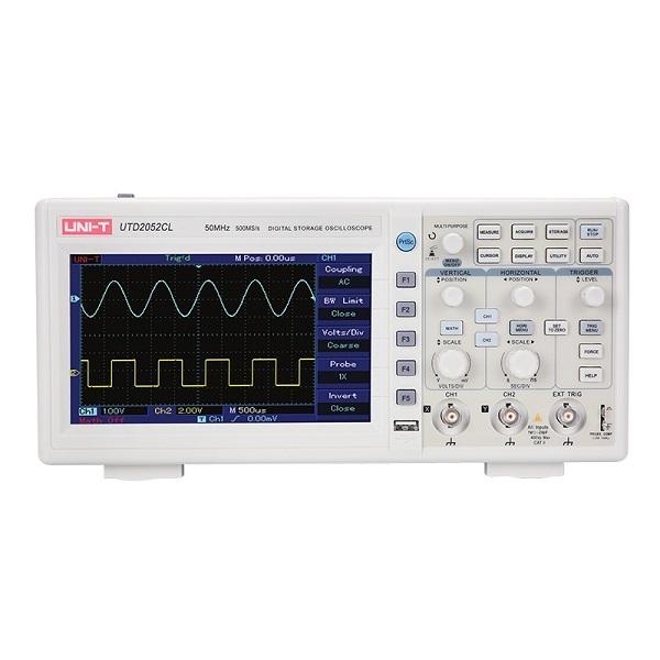 UTD 2052CL Digital Storage Oscilloscope- 50 Mhz