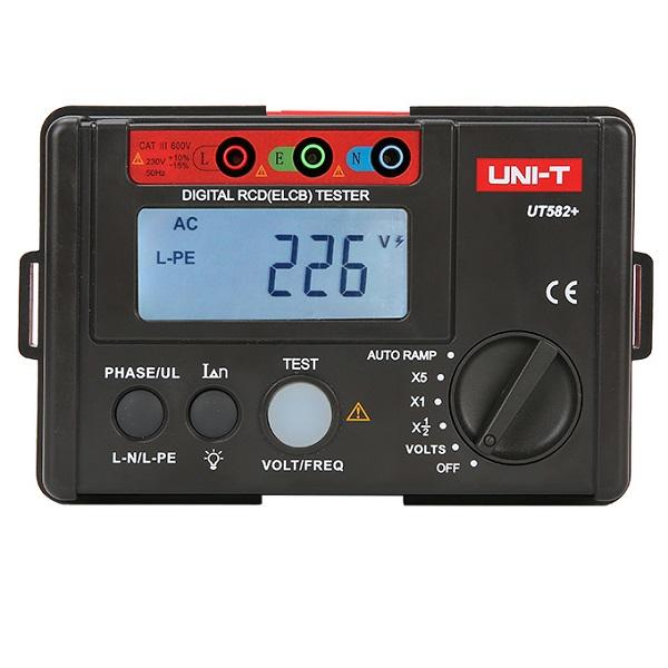 UT582+ Digital RCD (ELCB) Tester